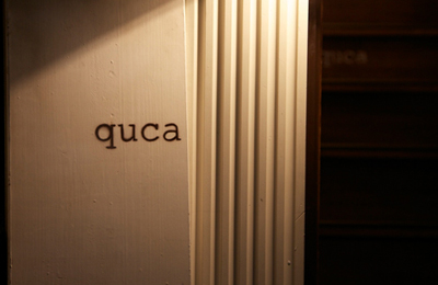 中目黒、のんびり、ゆったりできる隠れ家カフェ&レストラン quca(クカ)。