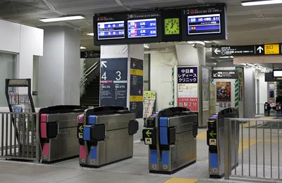 中目黒駅に改札口が増設。駅員さんに駅周辺の工事のこと聞いてみました。