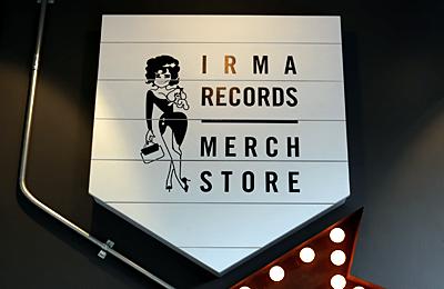 「IRMA RECORDS MERCH STORE」目黒川沿いのマーチストアはワンオフアイテムが目白押しのセレクトショップ!