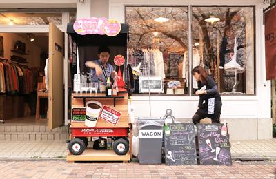 【桜2014】お花見屋台企画「SAKURA WAGON」満員御礼レポート。